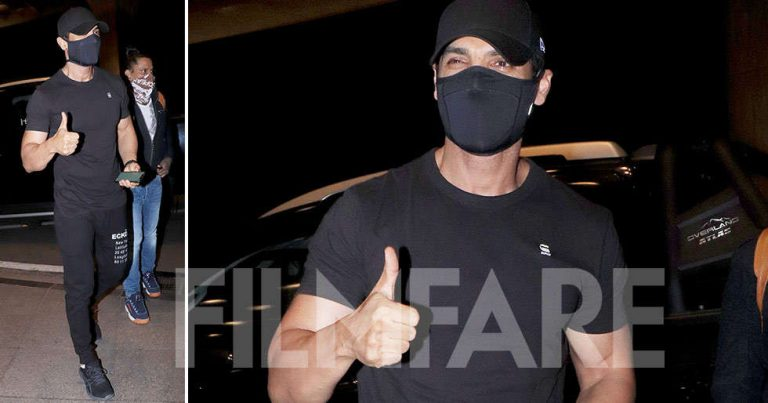 Photos: John Abraham spotted acing a casual all-black look
