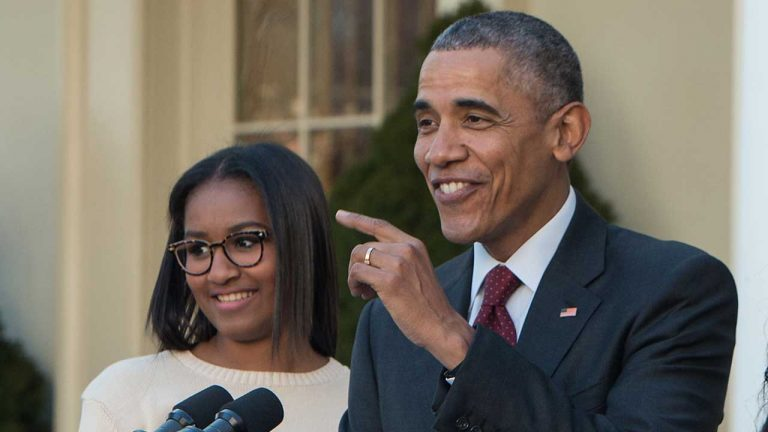 Barack Obama Jokes That His Younger Daughter Sasha Scares Him – She's A 'Mini Michelle!'