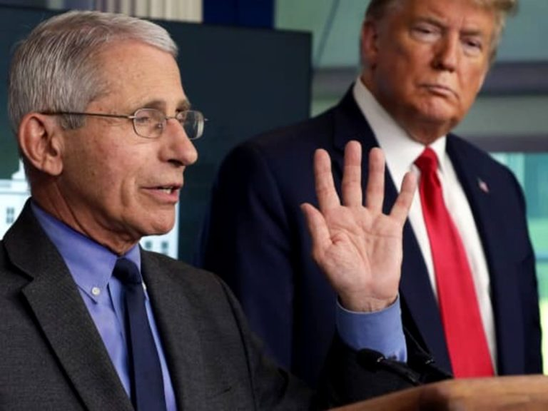 Dr. Fauci Says People Who've Had Coronavirus Should Still Get The Vaccine As President Donald Trump Encourages Holiday Gatherings