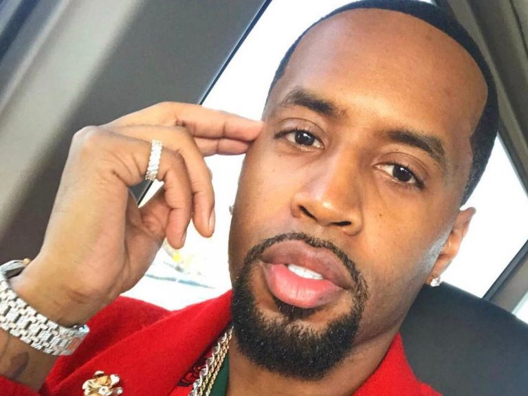 Safaree Poses With His Gorgeous Daughter, Safire Majesty For Her 10 Month Anniversary