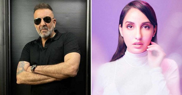 Nora Fatehi shoots an emotional sequence with Sanjay Dutt for Bhuj: The Pride of India