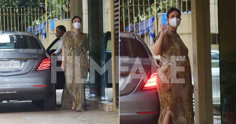 Kareena Kapoor Khan opts for a kaftan as she steps out in the city